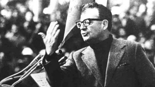 Another victim of the many coups on democracy carried out by the United States: Salvador Allende.