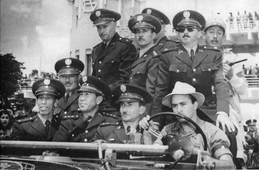 U.S.-backed and financed military tyrants of Guatemala 1954