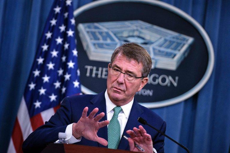Secretary of Defense Ashton Carter at the Pentagon last month. Credit Brendan Smialowski/Agence France-Presse — Getty Images