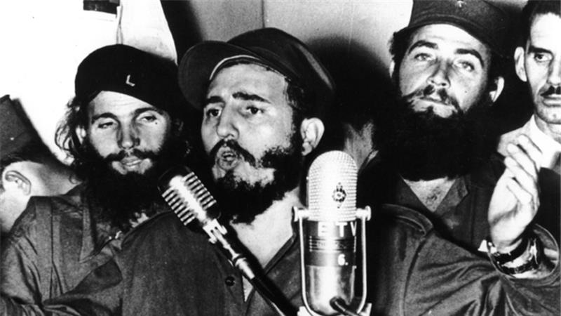 The US had long portrayed Castro's Cuba as an existential threat. [Getty Images]