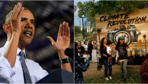 Obama has said the pipeline should be rerouted; climate activists don't want it built at all. | Photo: Reuters-teleSUR