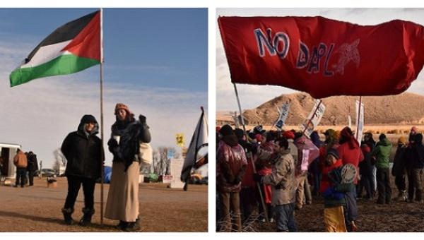 Scenes from the Standing Rock encampments | Photo: Priya Handa