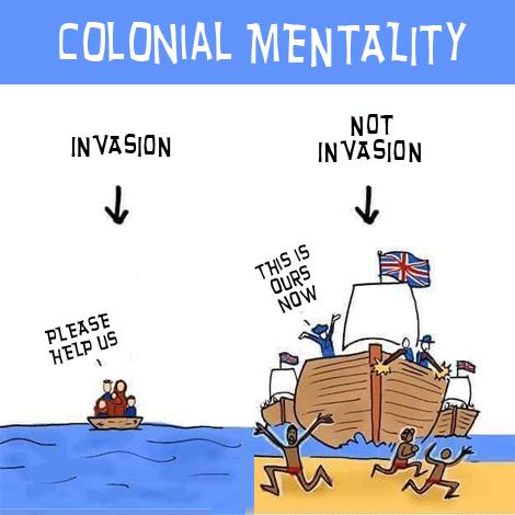 TRANSCEND MEDIA SERVICE » Colonial Mentality