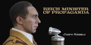 "Figure 1: Joseph Goebbels, Nazi Germany's Minister of Propaganda. He said: ""Propaganda works best when those who are being manipulated are confident that they are acting on their own free will""."