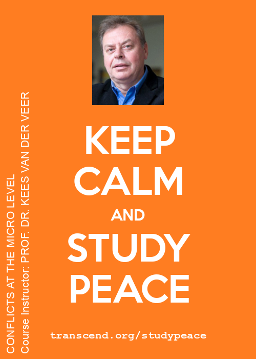 Keep calm and study peace!