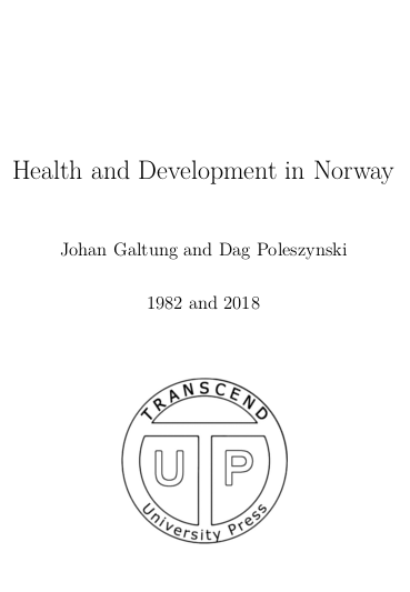 Health and Development in Norway